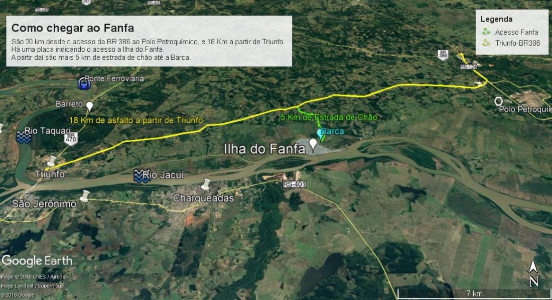 Mapa Fanfa